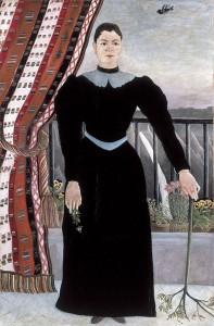 """Picasso kaufte Rousseaus """"Portrait de femme"""" 1907."""